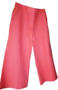 Ann Taylor Trouser Cropped Dress Work Capri/Cropped Pants Peach