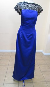 DaVinci Bridal Cobalt/Black 60206 Dress