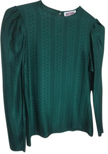Ann Taylor Top Emerald Green