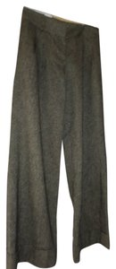 Ann Taylor LOFT Wool Dress Cuff Trouser Pants Brown