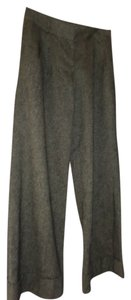 Ann Taylor LOFT Trousers Wool Dress Trouser Pants Brown