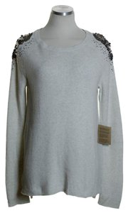 Rachel Roy Cashmere Crewneck Tunic Sweater