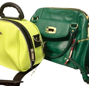 Merona Satchel in green