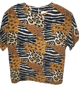Che Studio Top Animal Print