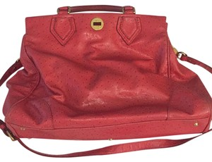 Marc by Marc Jacobs Satchel in Coral Red