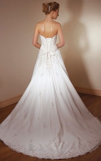Mori Lee Ivory Chiffon Wedding Dress Size 26 (Plus 3x)