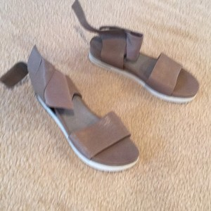 Eileen Fisher Taupe Sandals