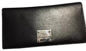 Ralph Lauren Sloan Street Black Leather Slim Wallet
