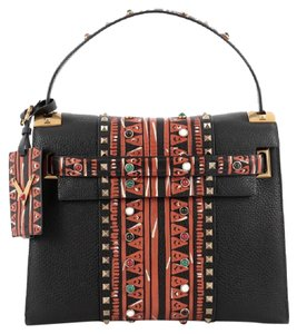 Valentino Satchel Tribal Tote