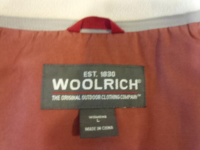 Woolrich Red Winter Coat