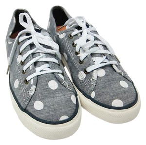 Sperry grey and white Athletic