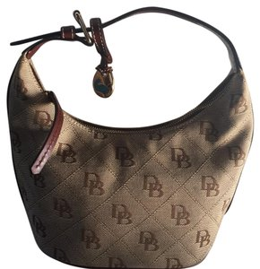 Dooney & Bourke Satchel in brown monogram