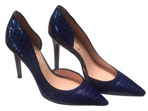 Jessica Simpson Blue Pumps