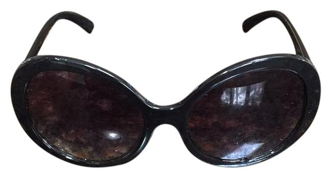 Item - Black Oversized Used Condition Some Minor Wear and Tear Sunglasses