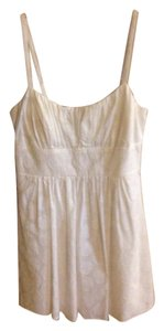 B. Smart short dress White Sun Nwt Size 12 on Tradesy