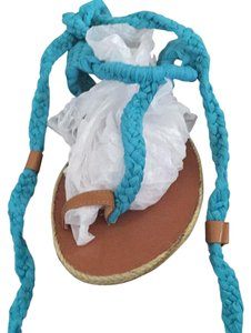 Penny Loves Kenny turquoise Sandals