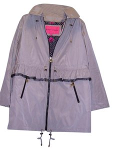 Betsey Johnson Raincoat Coat
