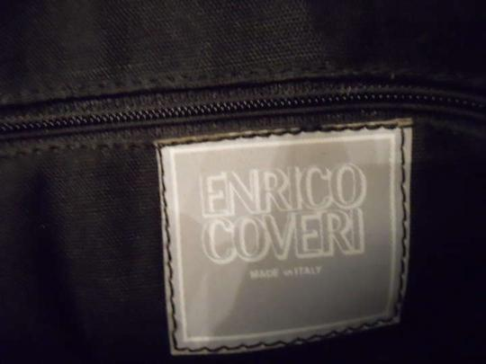 Enrico Coveri Vintage Leather Shoulder Bag