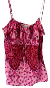 Banana Republic Silk Top Pink