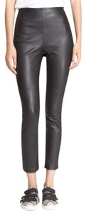 Rag & Bone Leather Skinny Pants Black