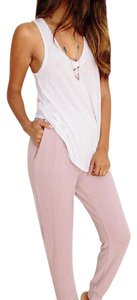 Honey Punch Loungewear Relaxed Pants blush
