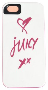 Juicy Couture Juicy Couture Hardshell Heart Kisses XX Case Cover iPhone 4/4S