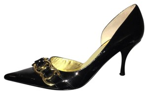 Guess By Marciano Black, Gold Pumps