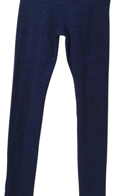 Item - Navy and Black Spacedye Long Activewear Bottoms Size 4 (S)