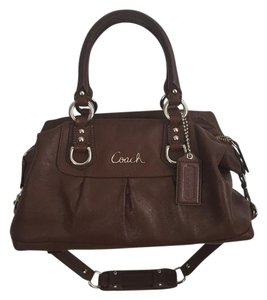 Coach Satchel in brown
