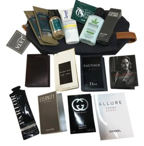 Calvin Klein New Men's Dopp Kit with Fragrance and More
