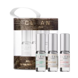 CLEAN Reserve Perfume Rollerballs 3- pc