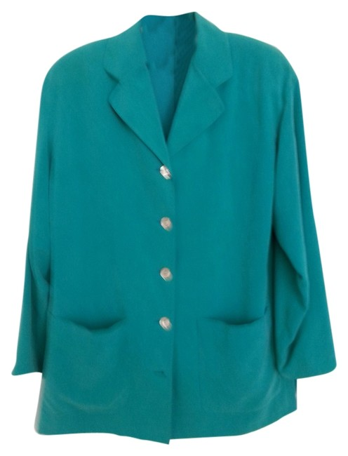 Preload https://item3.tradesy.com/images/talbots-tourquoise-green-multi-piece-silk-pant-suit-size-4-s-2058282-0-0.jpg?width=400&height=650