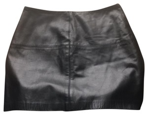 Anna Sui Mini Skirt Black