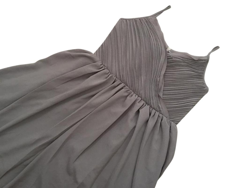 3b38a6d0002 Banana Republic Grey Cocktail Prom with Tag. 00p. Has Internal Highlight  Mark On Inside As Shown   Formal Dress