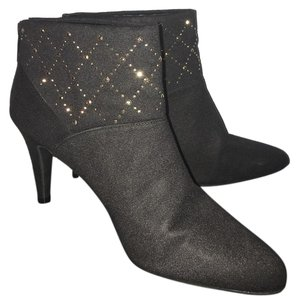 Naturalizer Black, Gold Boots