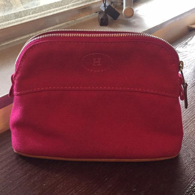 Item - Pink Bolide Pouch Cosmetic Bag