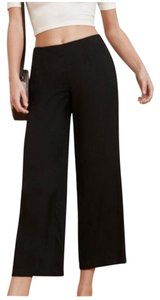 Reformation Relaxed Pants Black