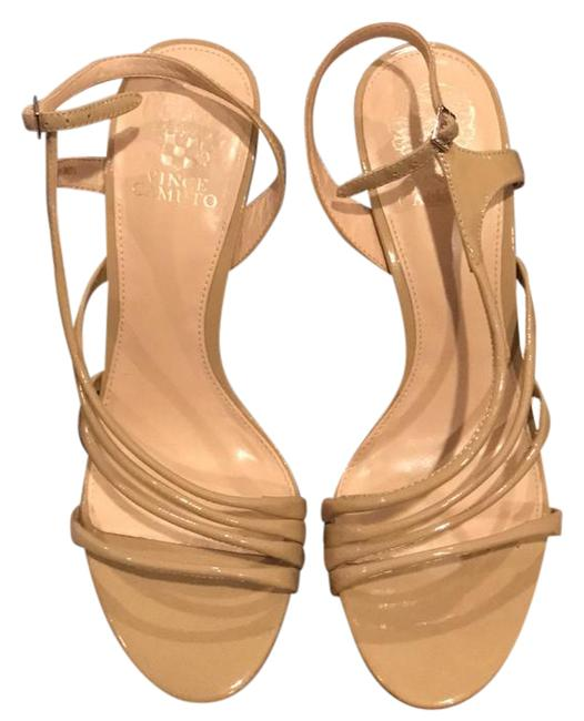 Item - Nude Strappy Heels Formal Shoes Size US 10 Regular (M, B)