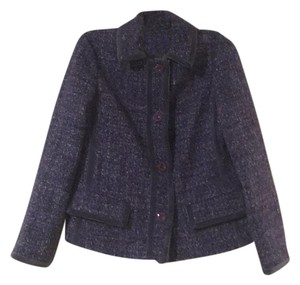 Marc Jacobs Tweed Vintage Blue Jacket