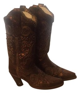 Corral Boots Bronze/Brown Boots