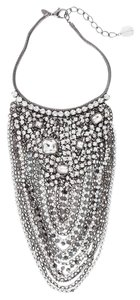 Chico's Isabelle Rhinestone & Crystal Bib Necklace Bling RARE Collectible NEW