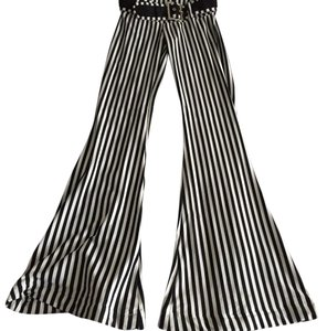 Other Super Flare Pants black and white