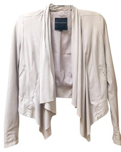 Rock & Republic And Open Front Nwot Cream Cream/Gray Jacket