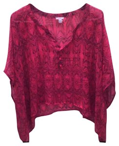 Ecote Top red/black