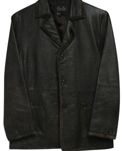 Terry Lewis Classic Luxuries Warm Brown Leather Jacket