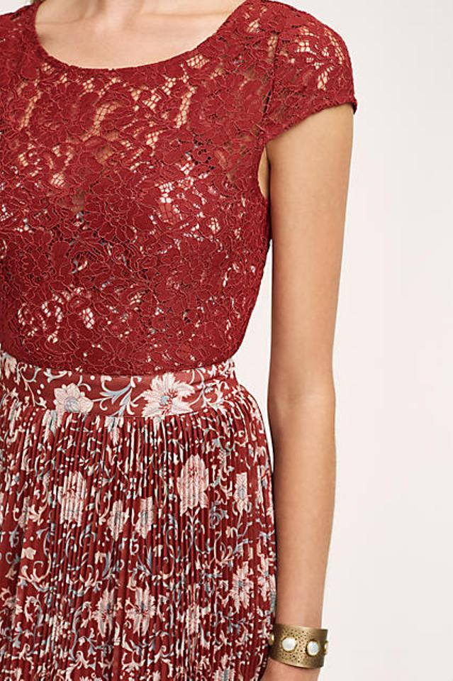 e72499a1f307 Anthropologie Plenty By Tracy Reese Arcadia Midi Mid-length Cocktail ...