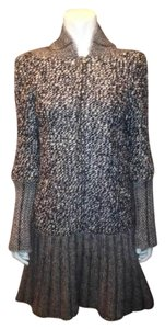 Chanel Tweed Sweaterdress Wool Mohair Dress