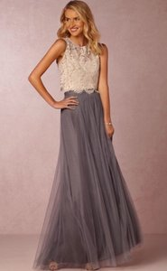 BHLDN Hydrangea Jenny Yoo Collection- Louise Tulle Skirt Dress