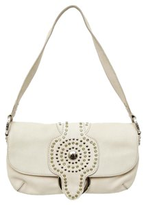Antonio Melani Rhinestones Gold Studs Shoulder Bag