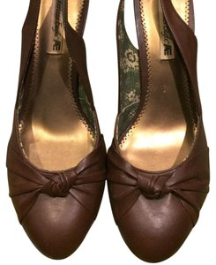 American Eagle Outfitters brown Wedges